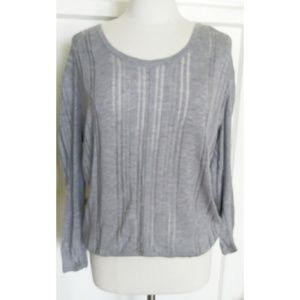 Two by Vince Camuto Hi-lo long sleeve top